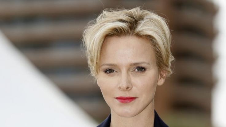 Perfekt gestylt - So kennt man Charlène von Monaco.