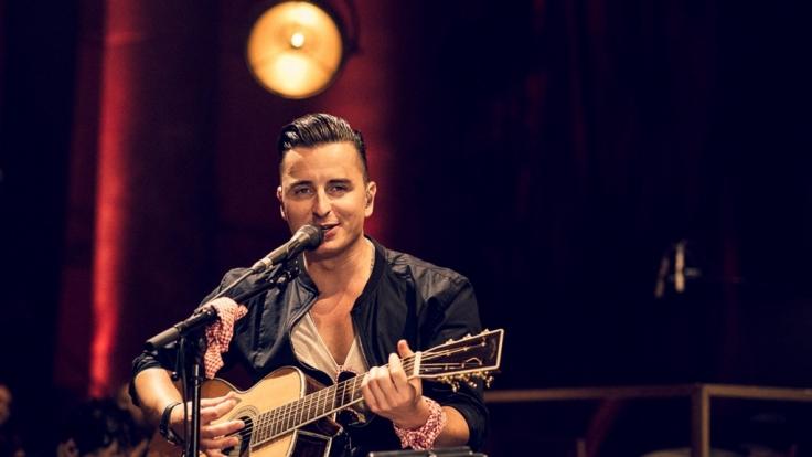 Andreas Gabalier bei seinem Unplugged-Konzert. (Foto)