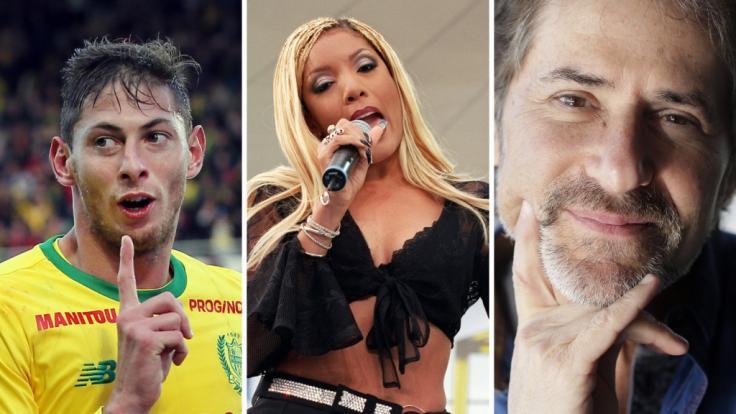 Emiliano Sala, Melanie Thornton und James Horner starben bei Flugzeugunglücken. (Foto)
