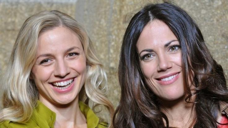 Annika Blendl (l) und Bettina Zimmermann (r). (Foto)