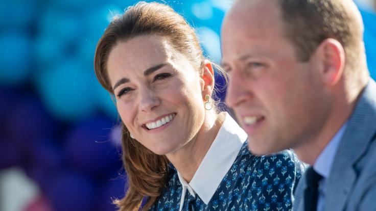 Bei Kate Middleton und Prinz William ist auch nach mehr als neun Jahren Ehe der Humor nicht verloren gegangen.