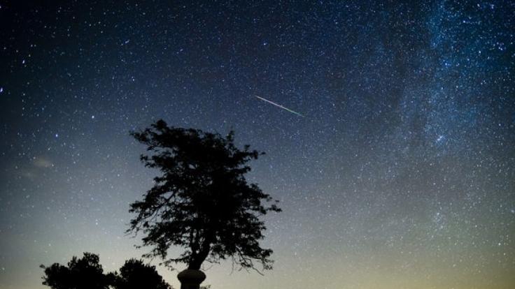 Am 12.08.2015 flitzen hunderte Sternschnuppen über den Nachthimmel.