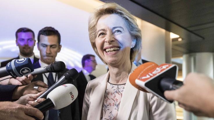 Ursula von der Leyen beginnt am 01. November 2019 ihren neuen Job als EU-Kommissionspräsidentin.