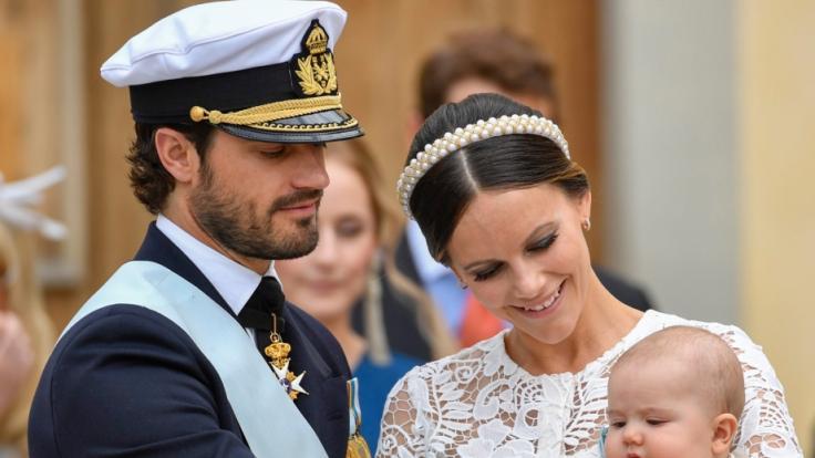 Der schwedische Prinz Carl Philip und Prinzessin Sofia von Schweden sind zum dritten Mal Eltern geworden. (Foto)