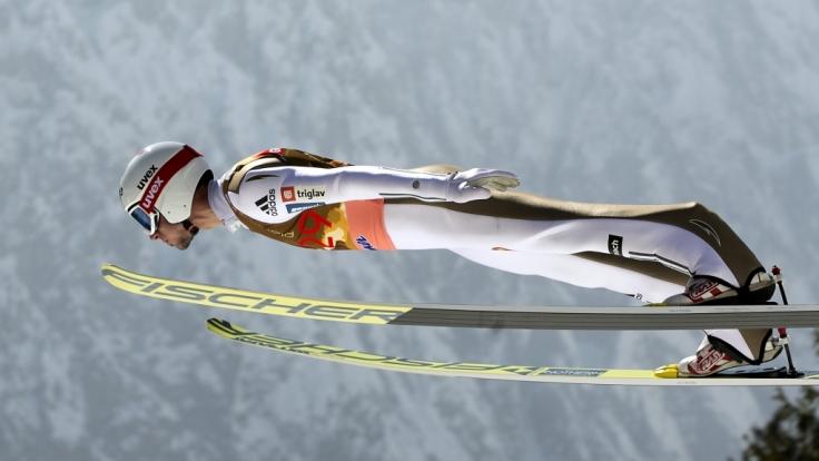 Die Skiflieger wollen in Planica wieder Rekorde brechen. (Foto)