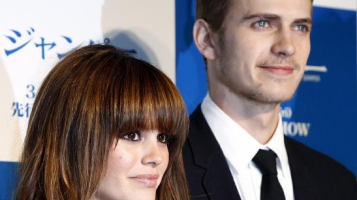Rachel Bilson mit ihrem damaligen FreundHayden Christensen. Das Ex-Paar hat eine gemeinsame Tochter. (Foto)