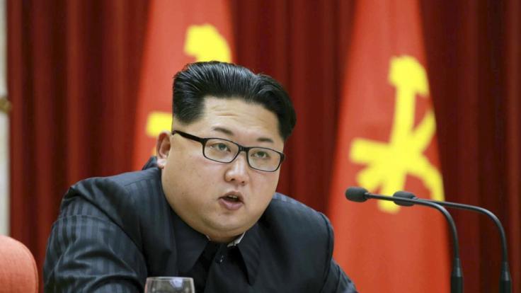 Kim Jong-un zündelt wieder. (Foto)