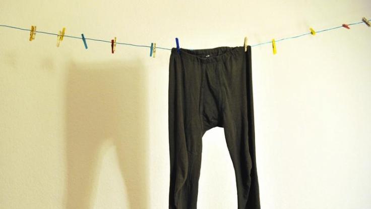 Nicht heiß - aber begehrt: Lange Männerunterhosen. (Foto)