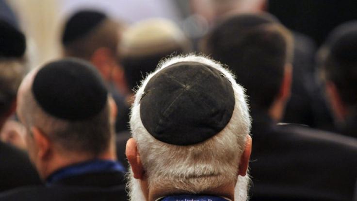 Jüdische Versammlung in Weimar (Foto)
