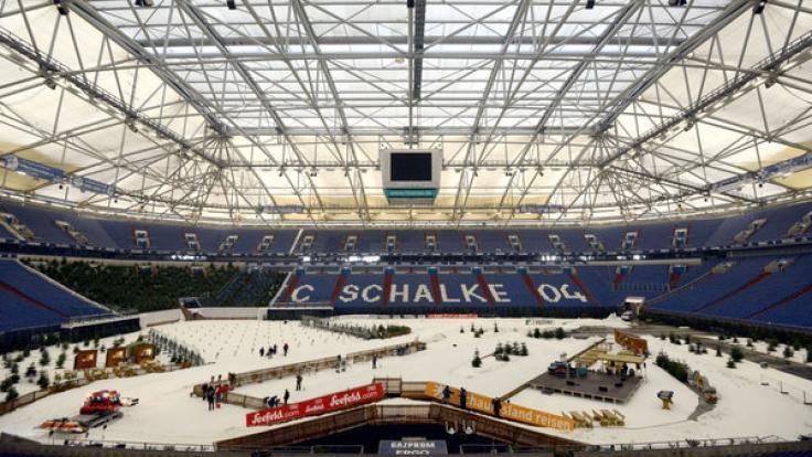 Die Veltins-Arena in Gelsenkirchen ist am 28.12.2017 wieder Treffpunkt der Biathlon-Stars.