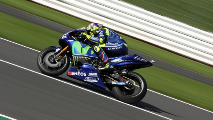 Valentino Rossi will in Silverstone wieder um den Sieg fahren.