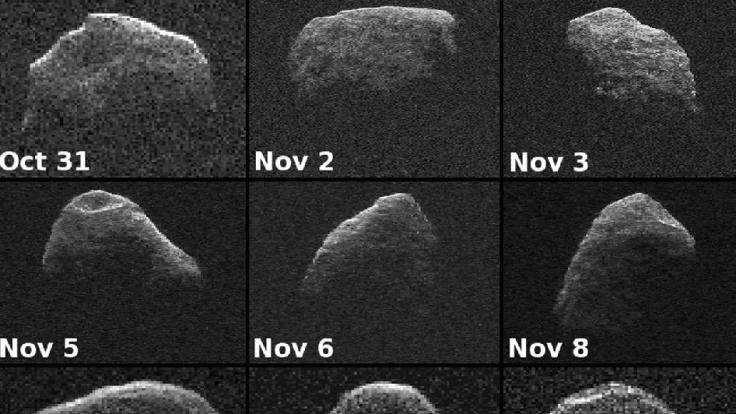 Die Nasa behält den Asteroiden im Blick.