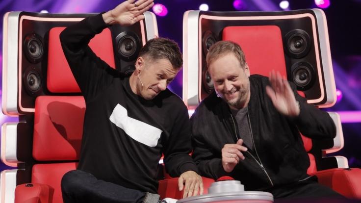 """Geben alles, um bei """"The Voice of Germany"""" zu gewinnen: Michi Beck (l.) und Smudo (r.) (Foto)"""