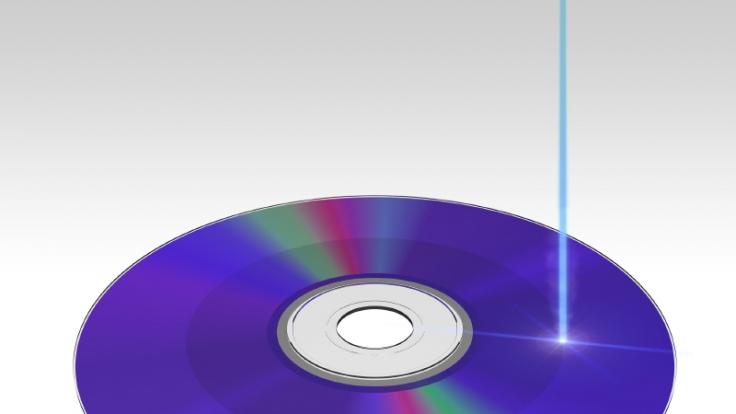 Der blauviolette Laserstrahl gab der Technik ihren Namen. (Foto)