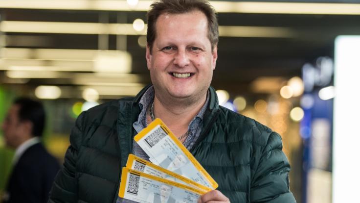 Jens Büchner hat eine neue Geschäftsidee, die Ehefrau Danni zur Weißglut bringt. (Foto)