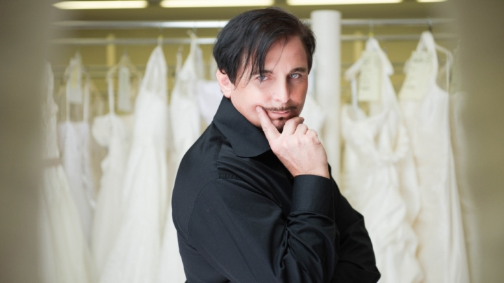Uwe Herrmann entdeckte seine Liebe zur Mode auf Reisen.