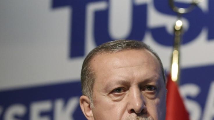 Erdogan will in Deutschland vor seinen Landsleuten sprechen.
