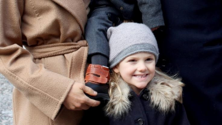 Die Thronerbin Prinzessin Estelle rückt in den Fokus der schwedischen Öffentlichkeit.