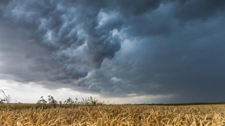 Zum Abschluss der Woche könnte es heute in Deutschland vereinzelt schon wieder Unwetter geben.