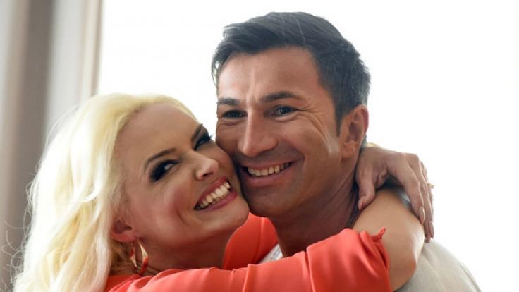 Daniela Katzenberger und Lucas Cordalis sind trotz der Fake-Gerüchte glücklich miteinander. (Foto)