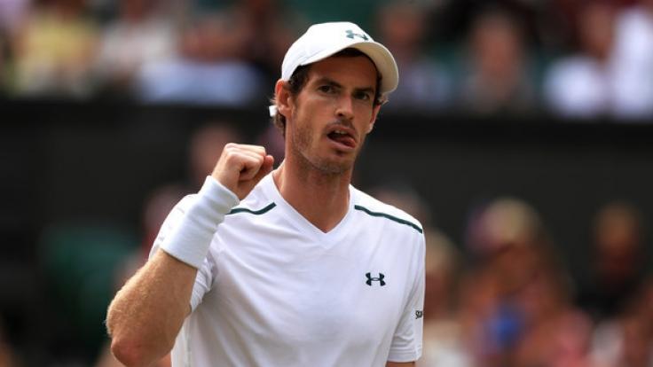 Der Brite Andy Murray steht gegen den US-Amerikaner Sam Querrey im Wimbledon-Halbfinale der Herren.