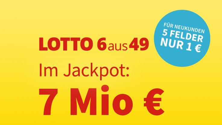 Am Mittwoch, 22.09.2021, liegen 7 Millionen Euro im Lotto-Jackpot. (Foto)
