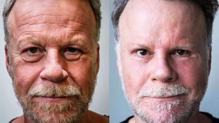 Nach seinem Schönheitsexperiment sieht Extrem-Reporter Jenke von Wilmsdorff jetzt deutlich jünger aus. Doch sein neues faltenfreies Gesicht gefällt nicht jedem. (Foto)