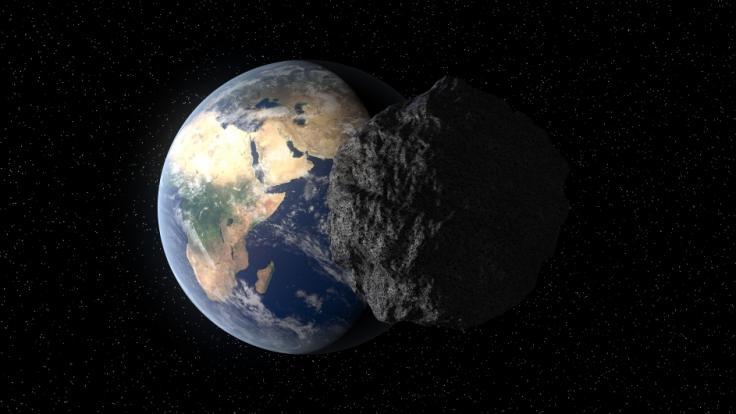 Die Nasa will einen Asteroiden von seiner Flugbahn kicken, damit er der Erde nicht gefährlich wird. (Foto)