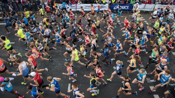 Am 28. Oktober 2018 findet in Frankfurt der Mainova Marathon statt.