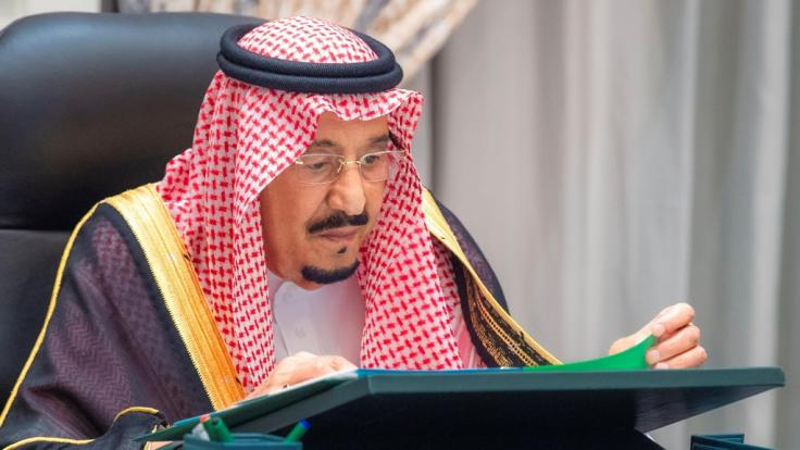 Der saudische König Salman (84) wurde wegen einer Gallenblasenentzündung ins Krankenhaus eingeliefert. (Foto)