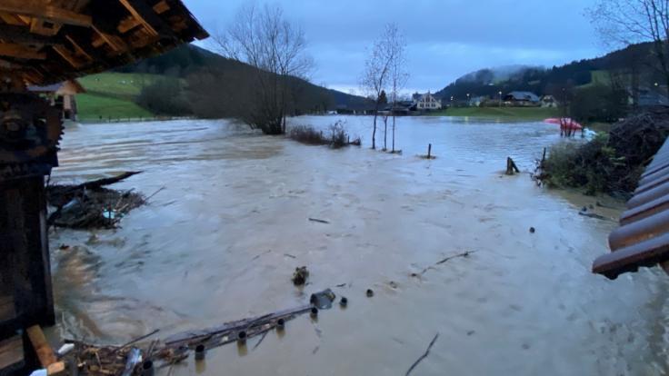 Am Dienstag werden in Teilen Österreichs erneut Regen und Schnee erwartet. (Foto)