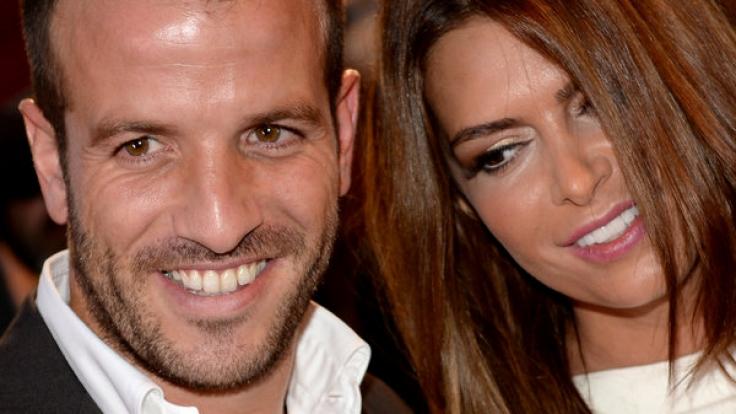 Nichts für die Dauer: Fußballer Rafael van der Vaart und Sabia Boulahrouz.