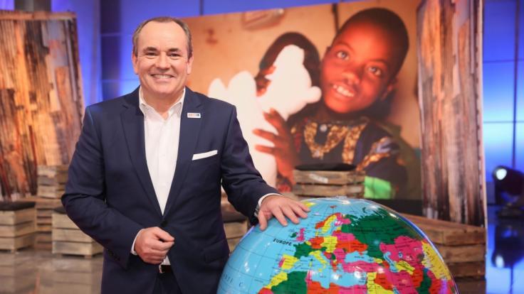 Wolfram Kons bittet beim 23. RTL-Spendenmarathon um Ihre Mithilfe.