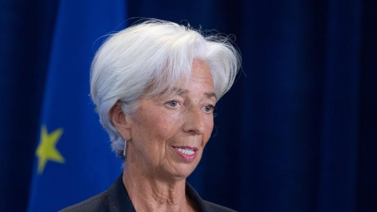 Die neue Präsidentin der Europäischen Zentralbank, Christine Lagarde (Foto)