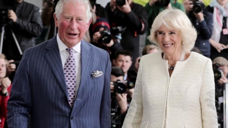 Prinz Charles und Herzogin Camilla sind wohlbehalten in Deutschland gelandet. (Foto)