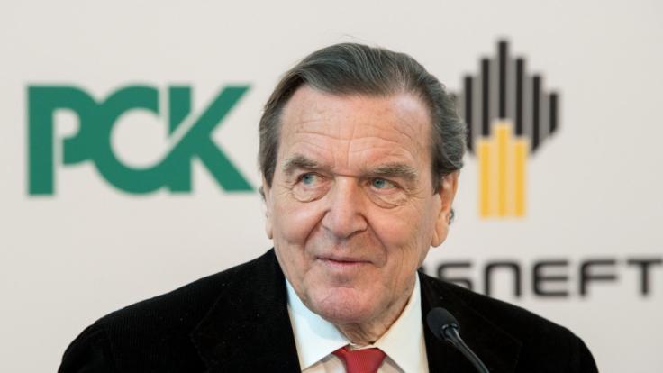 """Der Rechnungshof kritisiert die """"lebenslange Vollausstattung"""" des Altkanzlers Gerhard Schröder. (Foto)"""
