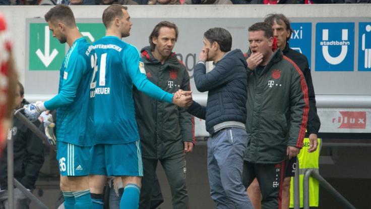 Manuel Neuer hat sich einen Muskelfaserriss zugezogen. (Foto)