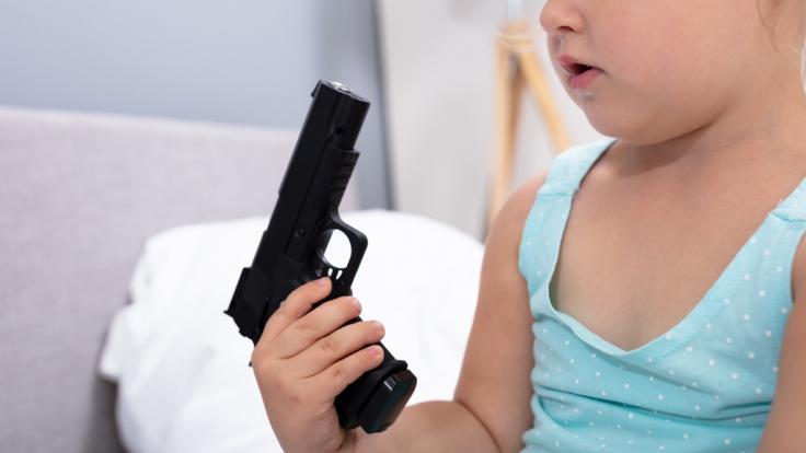 Ein Vierjähriger wurde in den USA beim Spielen erschossen. (Foto)