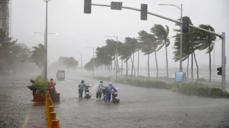 Schwere Unwetter fordern mindestens 26 Menschenleben auf den Philippinen. (Symbolbild)