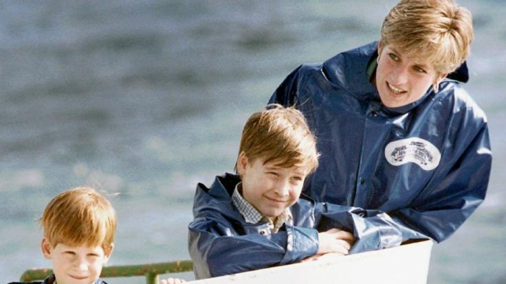 Wollte Prinzessin Diana ihre beiden Söhne William und Harry mit nach Amerika nehmen? (Foto)