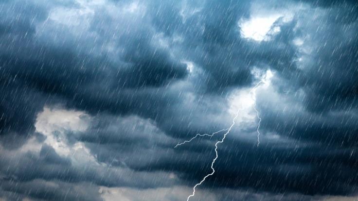 Wettervorhersage: Es wird Gewitter geben. (Symbolbild) (Foto)