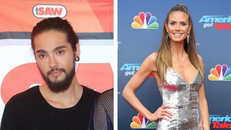 Heidi Klum und Tom Kaulitz haben offenbar eine Affäre. (Foto)