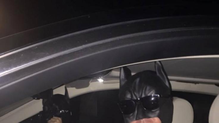 Robert Geiss gibt den Aushilfs-Batman.