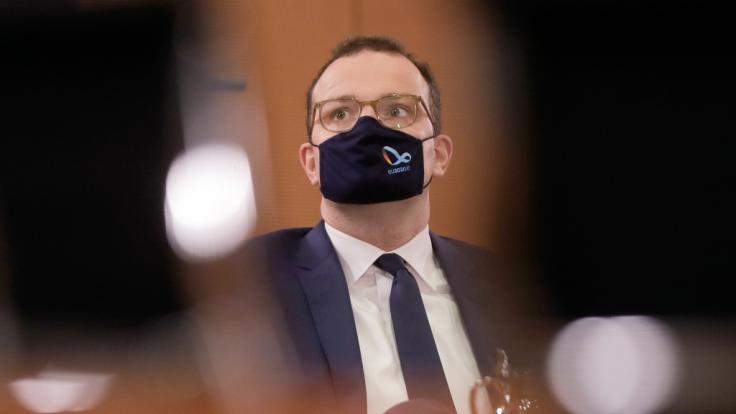 Gesundheitsminister Spahn ist positiv auf Corona getestet worden.