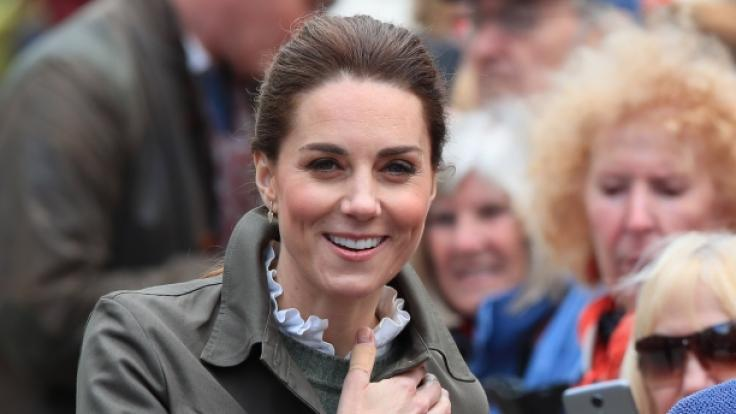 Herzogin Kate von Cambridge verzauberte ihre Royal-Fans mit einem sympathischen Auftritt. (Foto)