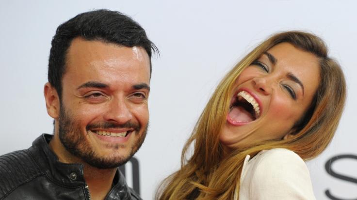 Seit über 11 Jahren glücklich verheiratet: Jana Ina und Giovanni Zarella. (Foto)