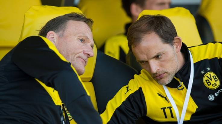"""Tuchel über das Verhältnis zu Watzke: """"Ich kommentiere das nicht, weil das ein Pingpong-Spiel wird."""" (Foto)"""