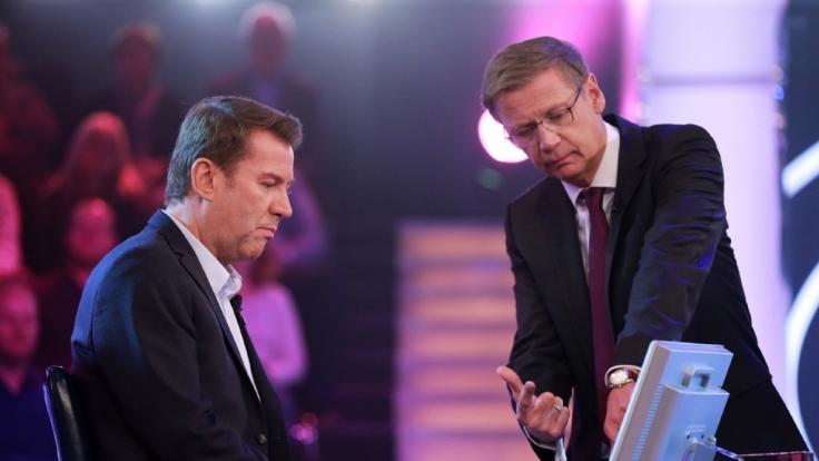 Günther Jauch: Er war plötzlich nur noch Zuschauer.