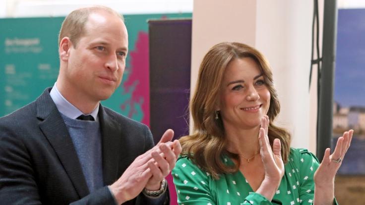 Prinz William und Kate Middleton haben aktuell das Ruder in der britischen Monarchie übernommen. (Foto)