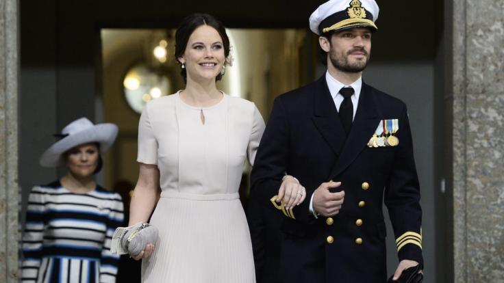Prinzessin Sofia von Schweden und ihr Mann Prinz Carl Philip sind zum dritten Mal Eltern geworden - nun wurde der Name des schwedischen Mini-Prinzen bekanntgegeben. (Foto)